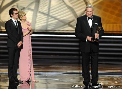 SAG's Next President? - Ken Howard Accepts an Emmy Sunday
