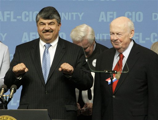 AFL-CIO President Richard Trumka Avoids Merger Issue in Guild Talk
