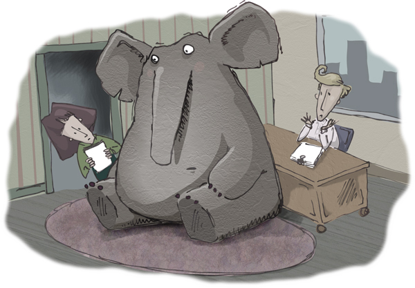 The elephant in the room spooks Colorado Law's Paul Campos